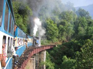 op vakantie met de trein