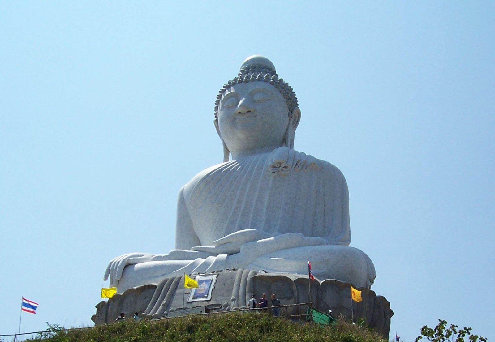 big buddha, bezienswaardigheden phuket, phuket, steden thailand, thailand rondreizen, rondreis thailand,
