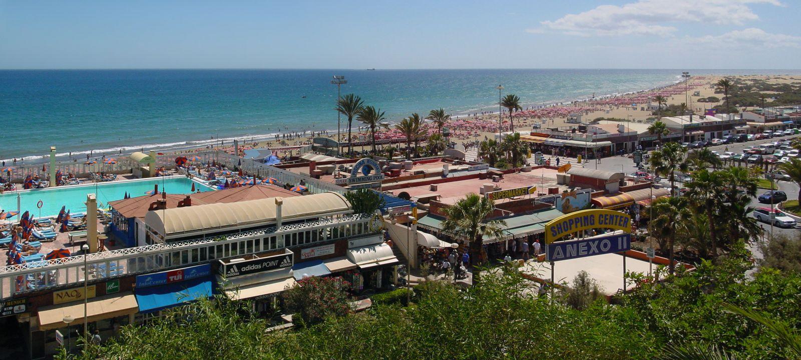 playa del ingles, hotel escorial, gran canaria