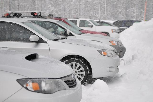 Wintersport en de auto